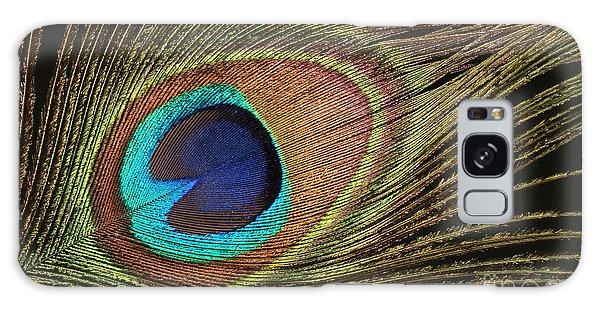 Eye Of The Peacock #5 Galaxy Case