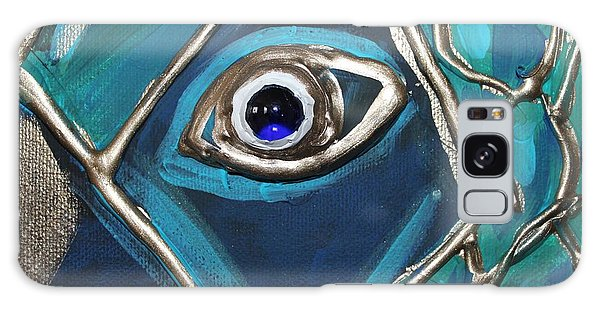 Eye Of The Peacock Galaxy Case by Cynthia Snyder