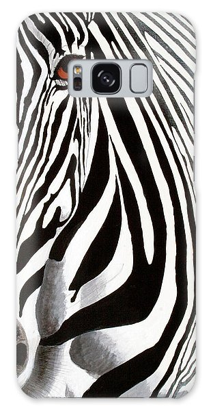 Eye Of The Zebra Galaxy Case