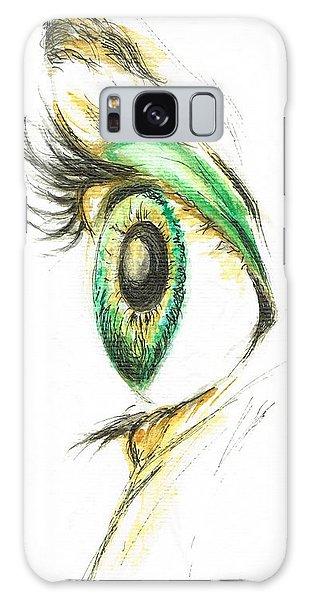 Eye Opener Galaxy Case by Teresa White
