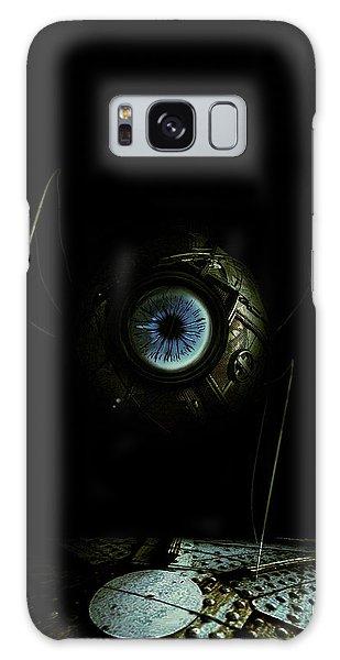 Eye Robot Galaxy Case by Jeremy Martinson