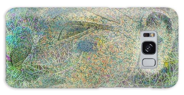Eye Sphinx Galaxy Case by Yury Bashkin