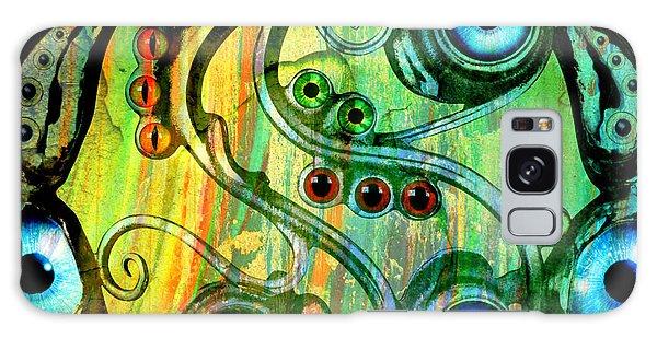 Eye Understand Galaxy Case by Ally  White
