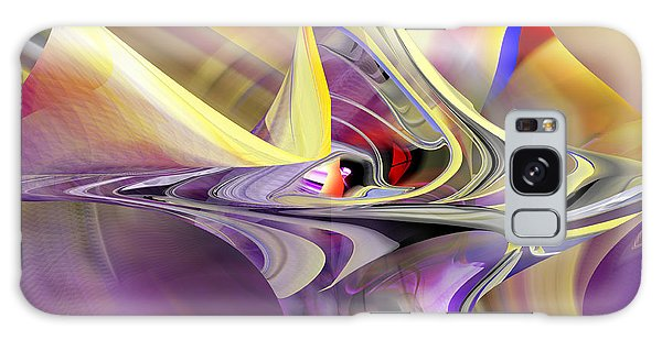 Eye Watcher - Abstract Art Galaxy Case by rd Erickson