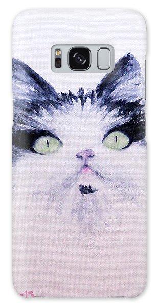 Eyelash Kitty Galaxy Case