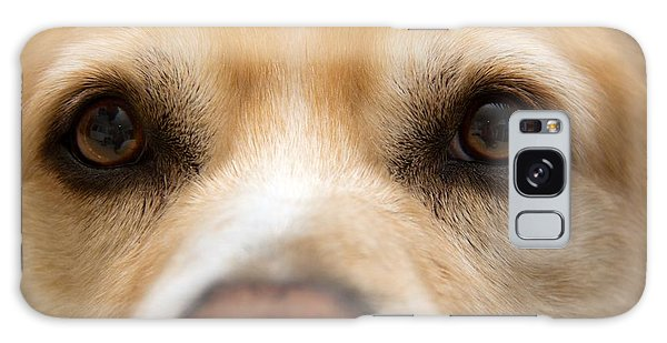 Eyes Of Friendship  Galaxy Case by Aaron Berg
