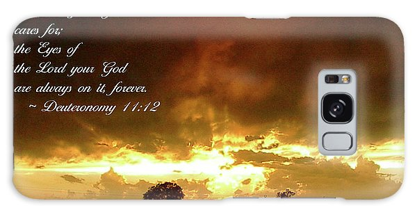 Eyes Of God Galaxy Case by Robyn Stacey