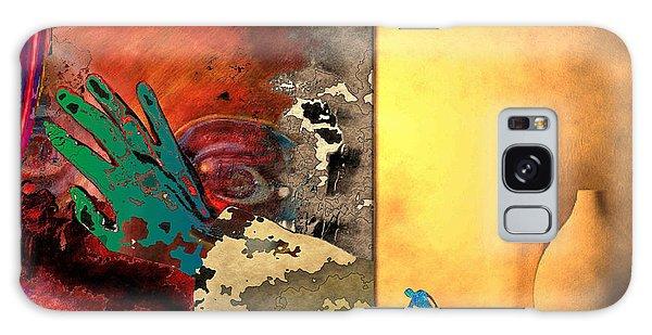 Eyewash Galaxy Case by Mojo Mendiola