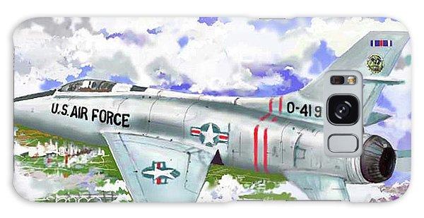 F-100 D Super Sabre Galaxy Case by Jim Hubbard