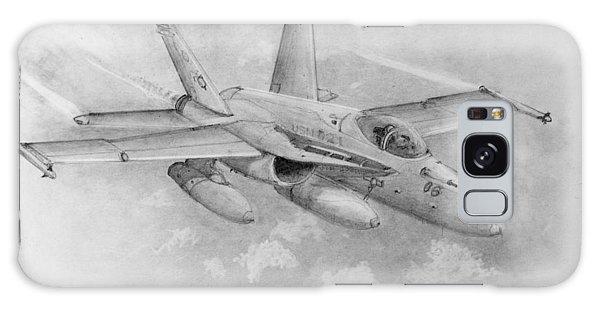 F-18 Super Hornet Galaxy Case by Jim Hubbard