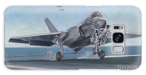 F-35c Carrier Landing Galaxy Case by Stephen Roberson