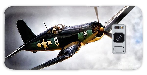 F4u Corsair 'jolly Roger Jump' Galaxy Case