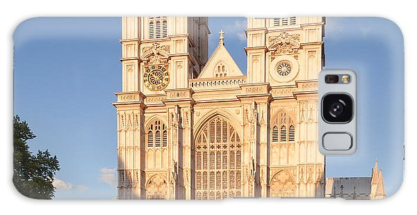Facade Of A Cathedral, Westminster Galaxy Case