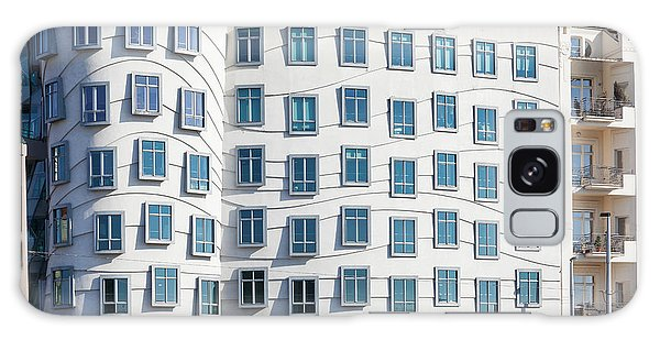 Gehry Galaxy Case - Facade Of Dancing House Or Ginger by Panoramic Images