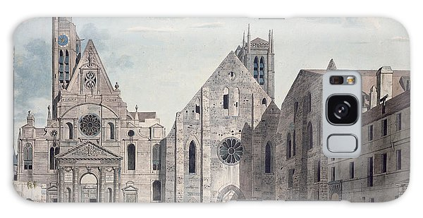 Place Of Worship Galaxy Case - Facades Of The Churches Of St Genevieve And St Etienne Du Mont by Angelo Garbizza