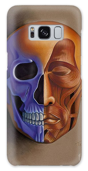 Face Anatomy Galaxy Case