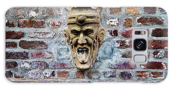 Face Fountain In Pirates Courtyard Galaxy Case