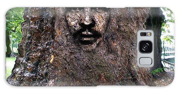 Face In A Tree Galaxy Case