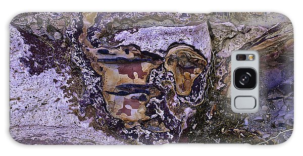 Face In The Desert 2 Galaxy Case by Sherri Meyer