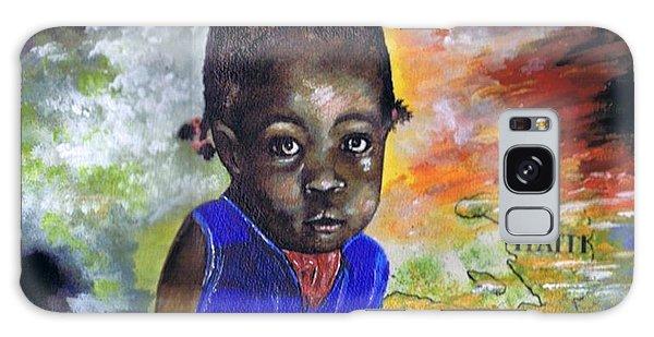 Face Of Haiti Galaxy Case