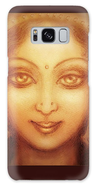 Face Of The Goddess/ Durga Face Galaxy Case