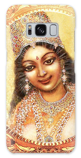 Face Of The Goddess - Lalitha Devi  Galaxy Case