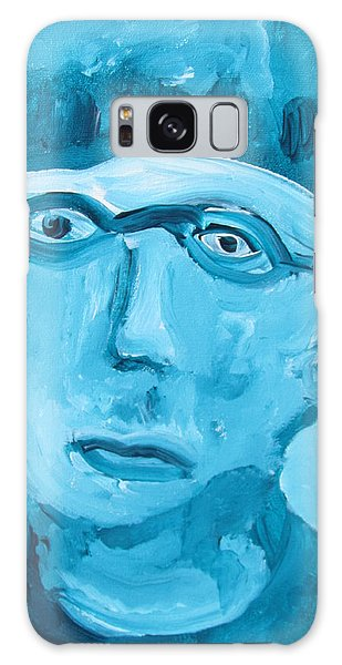 Face One Galaxy Case by Shea Holliman