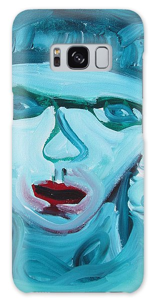 Face Two Galaxy Case by Shea Holliman