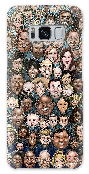 Faces Of Humanity Galaxy Case