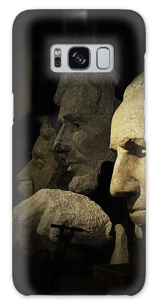 Faces Of Rushmore Galaxy Case