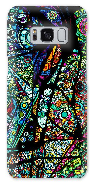 Facets Of Love Galaxy Case