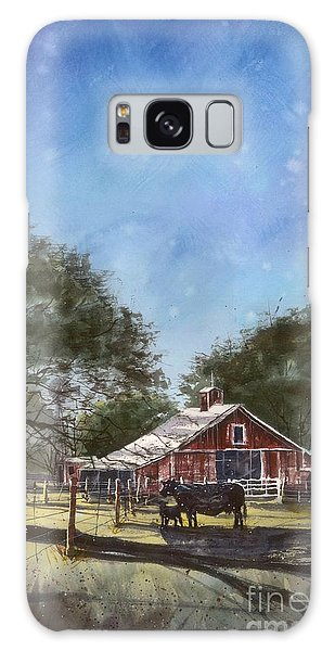 Faded Barn Galaxy Case by Tim Oliver
