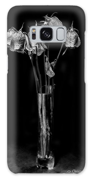 Faded Long Stems - Bw Galaxy Case