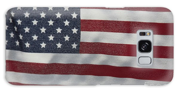Faded Old Glory Galaxy Case by Jerry Bunger