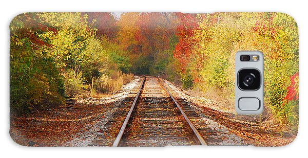 Fading Tracks Galaxy Case