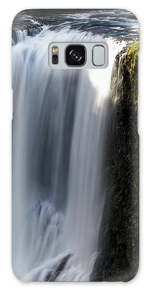 Ecosystem Galaxy Case - Fagrifoss Waterfall On The Road by Tom Norring