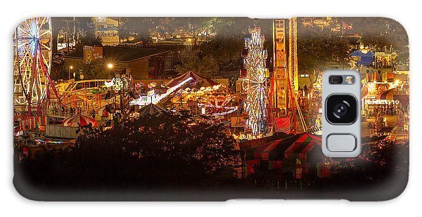 Fair Time In Paso Robles Galaxy Case by Tim Bryan