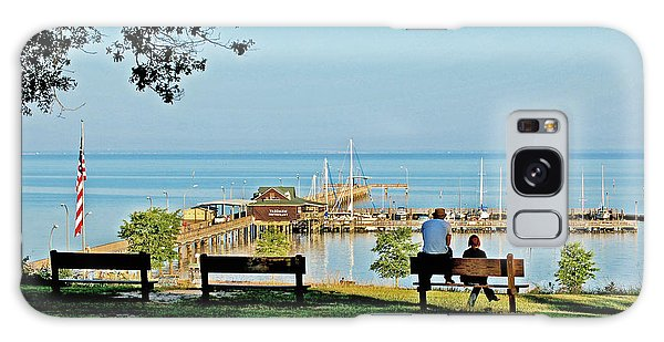 Fairhope Alabama Pier Galaxy Case