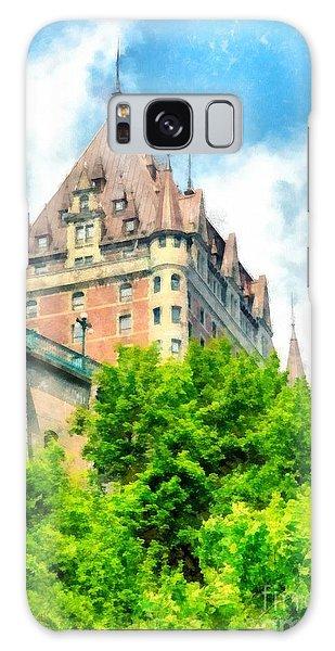 Quebec City Galaxy Case - Fairmont Le Chateau Frontenac by Edward Fielding