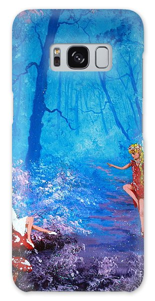 Fairy Dancer Galaxy Case by Jean Walker
