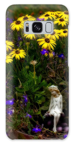 Fairy In Garden Pot Galaxy Case