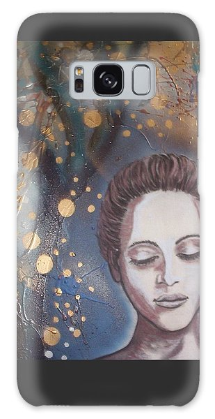 Galaxy Case - Fairy Lights by Joan Stratton