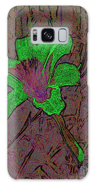 Fairy Lily Abstract Digital Art Galaxy Case by Merton Allen