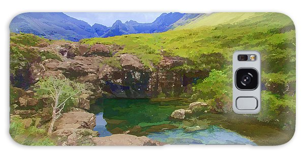 Fairy Pools Galaxy S8 Case - Fairy Pools Of Skye Watercolour by Chris Thaxter