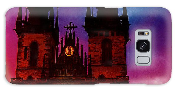 Fairy Tale Castle Prague Galaxy Case