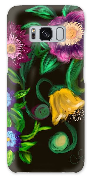 Fairy Tale Flowers Galaxy Case
