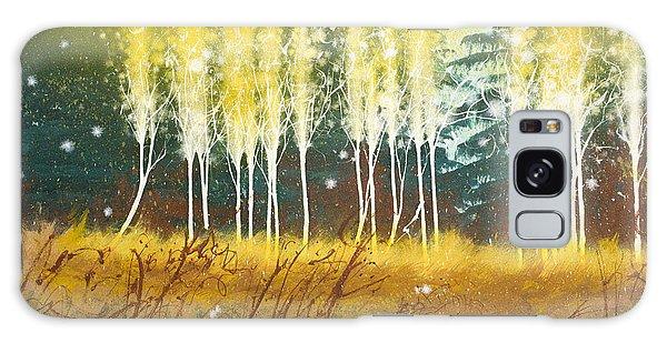 Fairy Trees Galaxy Case