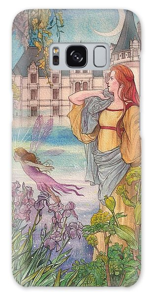 Fairytale Nocturne Castle Galaxy Case