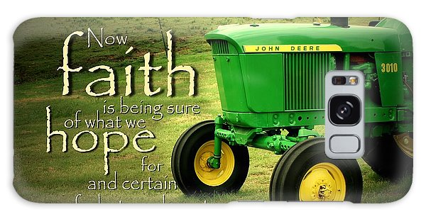 Pasture Galaxy Case - Faith And Hope by Linda Fowler