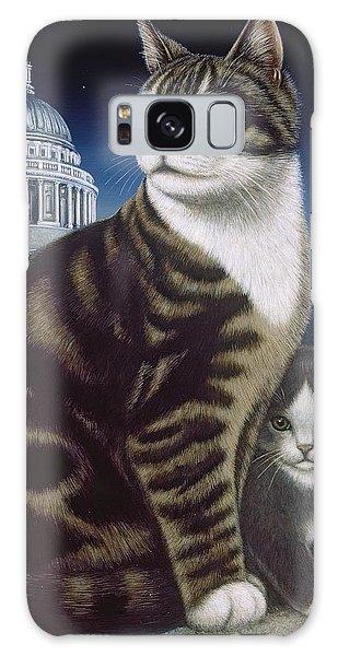 Calico Cat Galaxy Case - Faith, The St. Paul's Cat by Frances Broomfield
